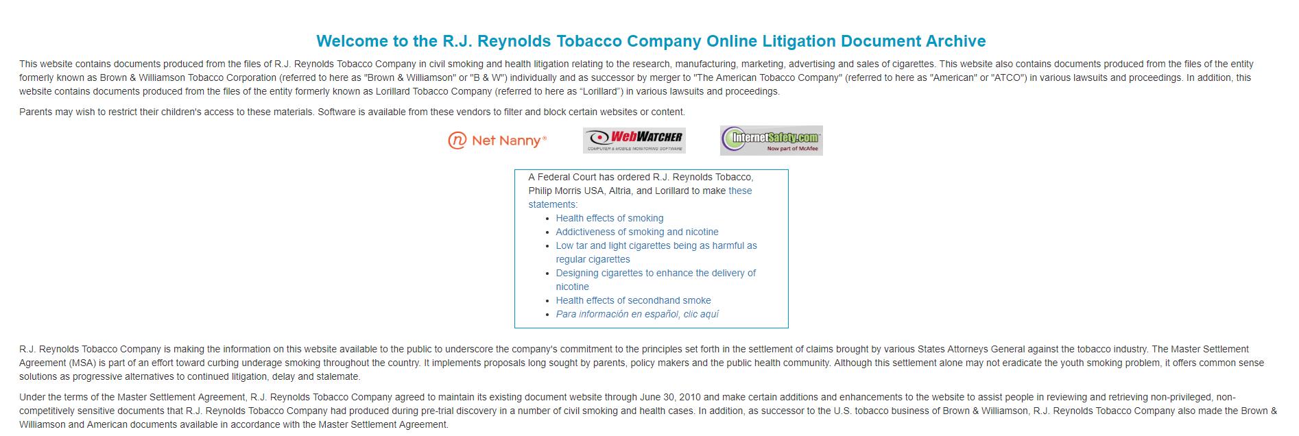 archives-RJ-Reynolds-tabac