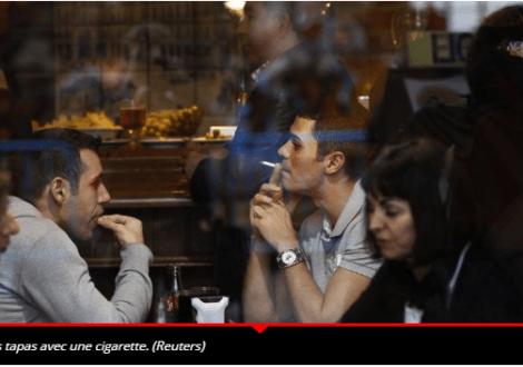 Tabagisme passif : l'Espagne désormais exemplaire !