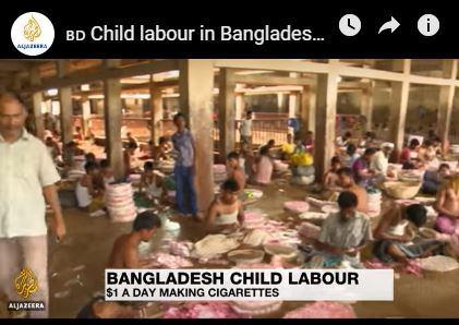 Des plantations aux fabriques de tabac, l'industrie du tabac exploite les enfants
