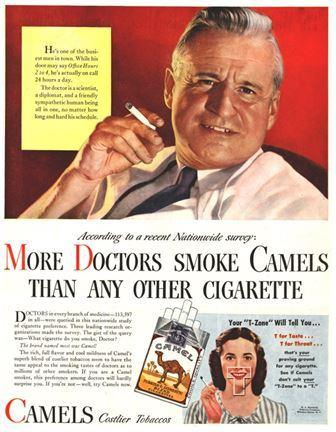 publicite-tabac-1950-docteur-camels-usa