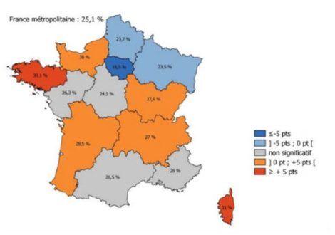 Tabac et jeunes, des disparités régionales mais une consommation nationale à la baisse