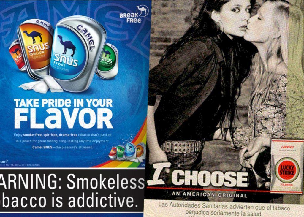 « Liberté » et « choix » : comment les fabricants de tabac ciblent la communauté LGBTQ