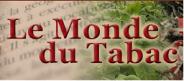 Un site a priori informatif sur l'actualité du tabac