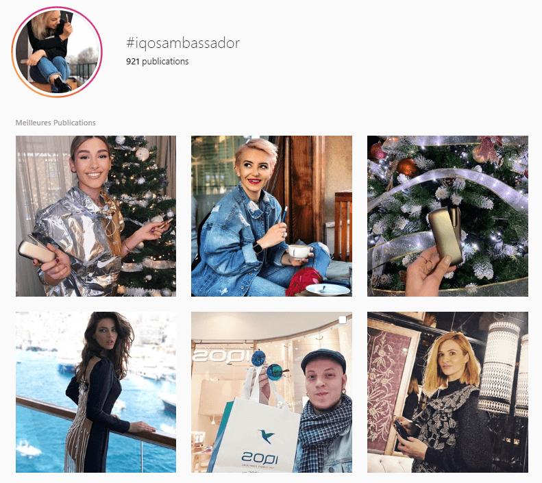 iqos-ambassadeur-réseaux-sociaux-instagram