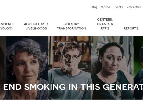 La Fondation pour un monde sans fumée, le trouble faire-valoir de Philip Morris