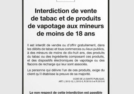 L'interdiction de vente de tabac aux mineurs : une mesure largement inappliquée