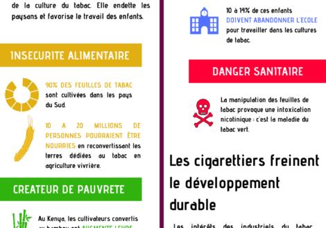 L'Organisation Internationale du Travail s'engage à ne plus recevoir de financements de l'industrie du tabac