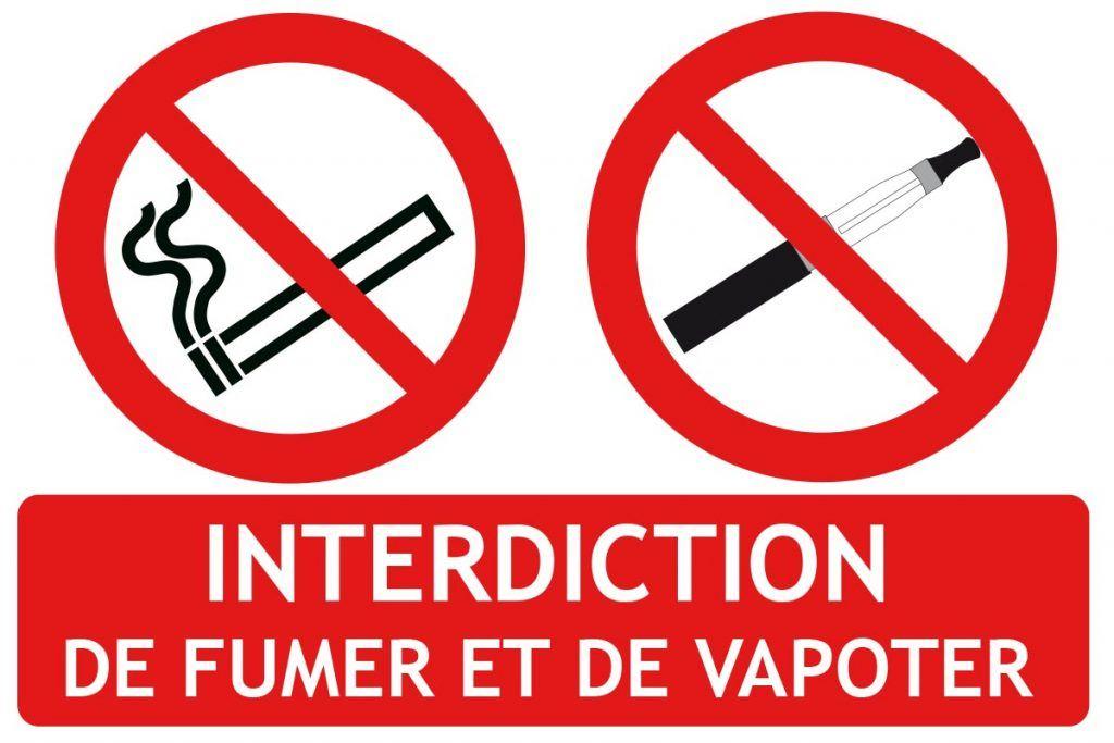 L'interdiction de fumer et de vapoter dans les lieux publics