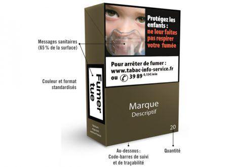 Généraliser le paquet neutre aux produits du tabac et du vapotage